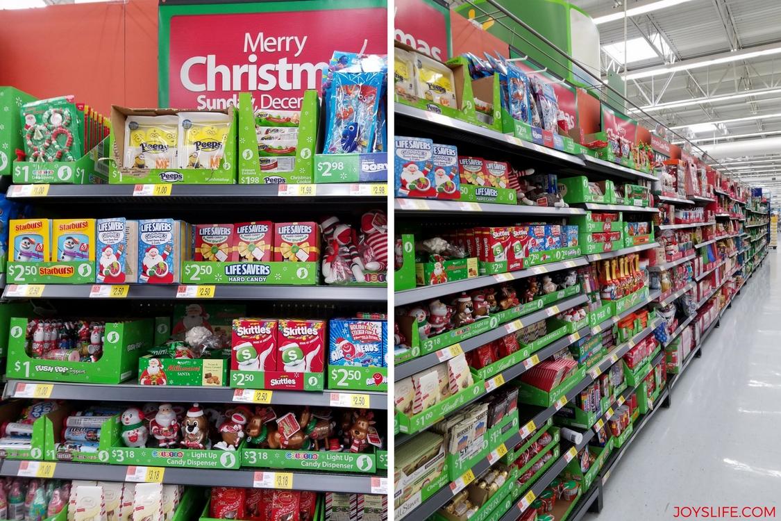 walmart Christmas candy
