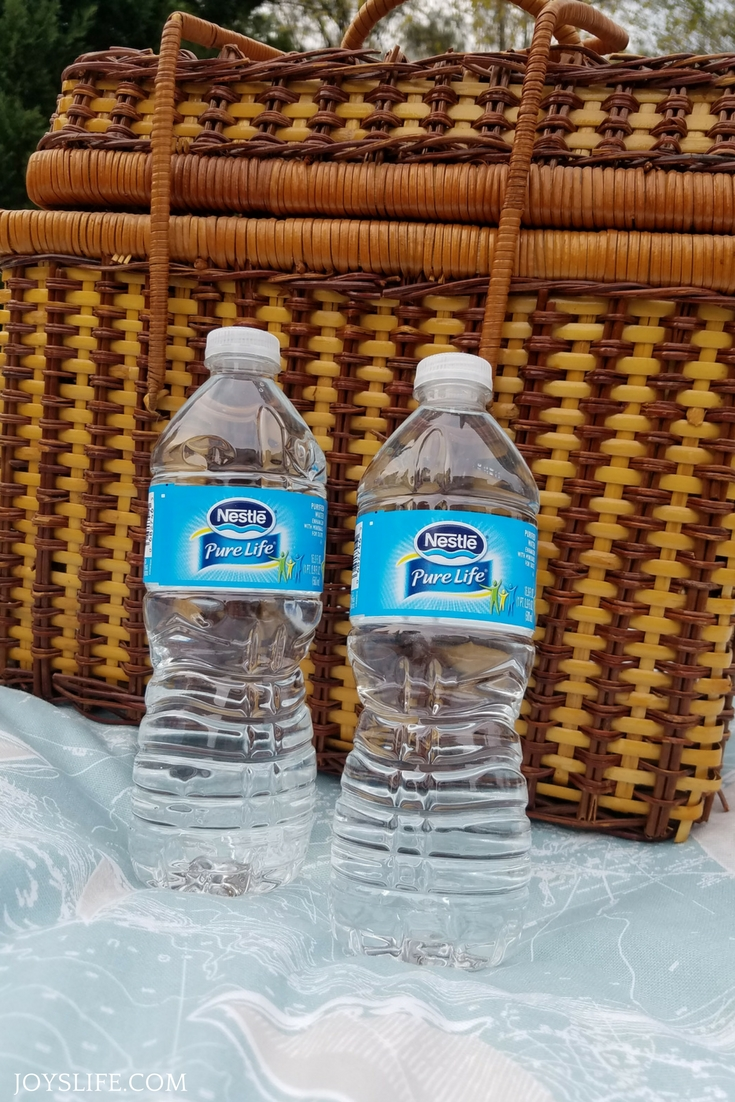 picnic basket water bottles