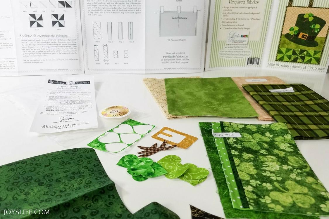 Shabby Fabrics Instructions Kit