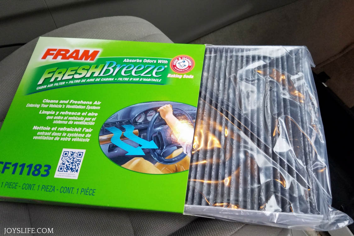 FRAM Fresh Breeze® cabin air filters
