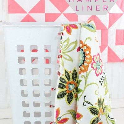 The Simplest Laundry Hamper Liner