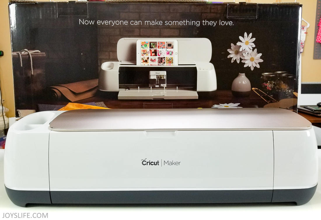 Cricut Maker Box Back
