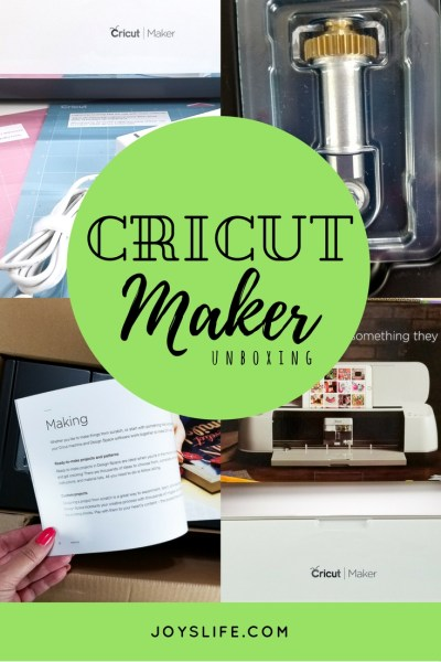 Cricut Maker Unboxing