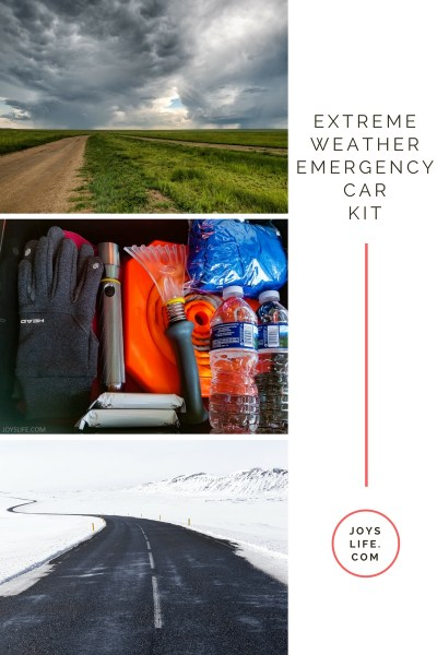 Extreme Weather Car Emergency Kit