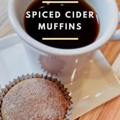Spiced Cider Muffins