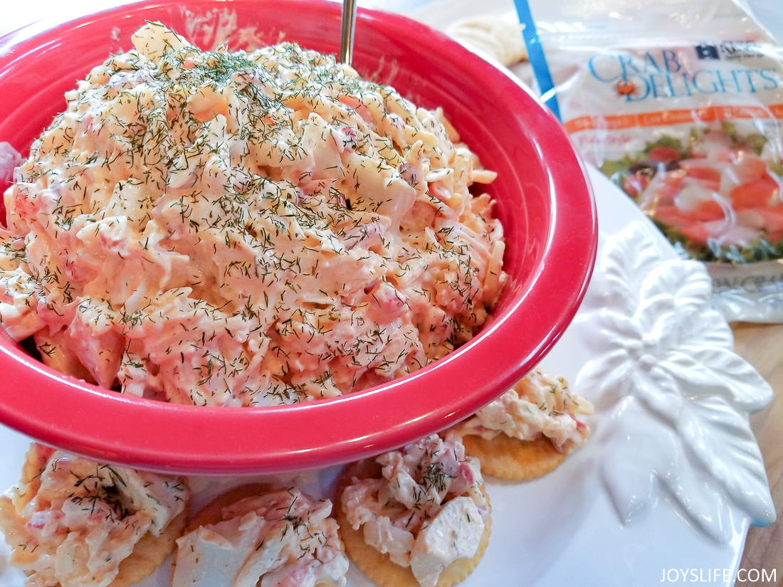 Smoky Crab Pimiento Cheese