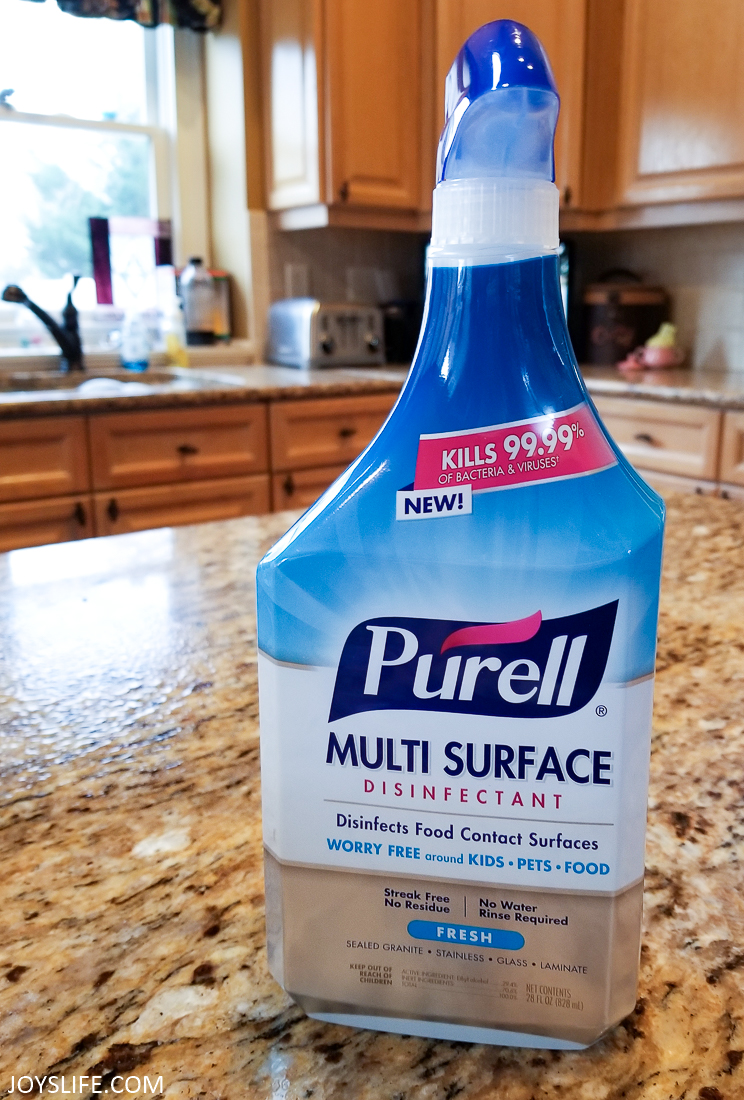 PURELL Multi Surface Disinfectant Spray – Fresh Fragrance