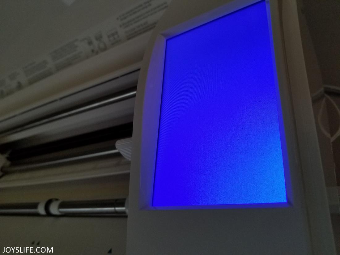 silhouette cameo firmware screen dark blue