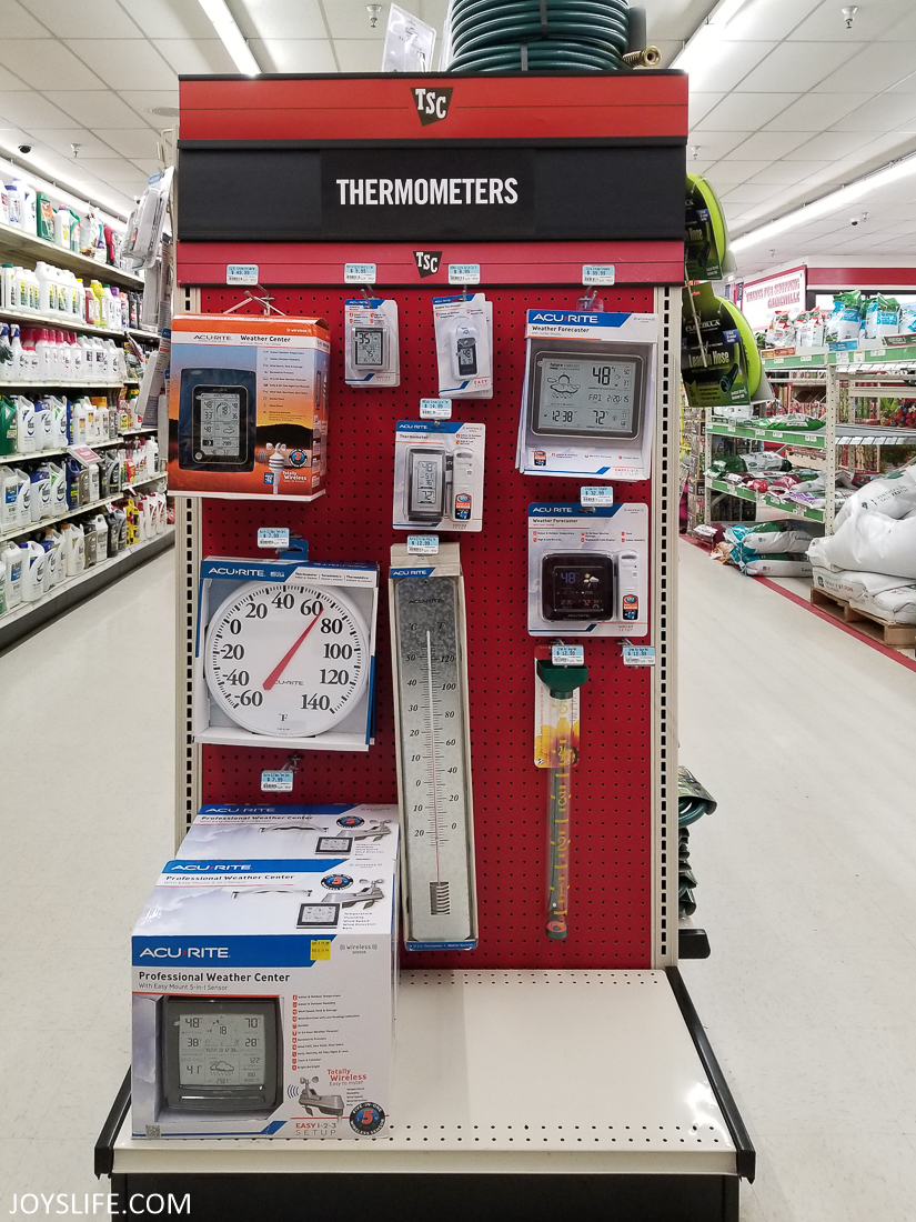 thermometers at Tractor Supply