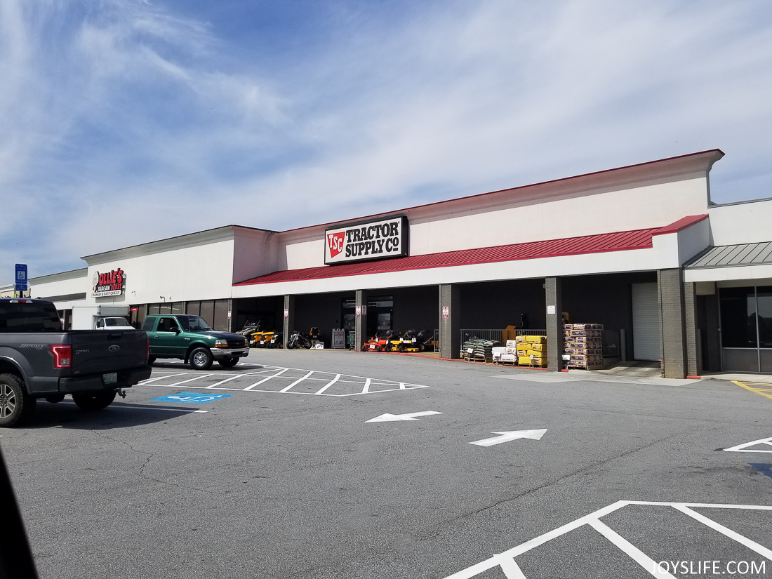 Tractor Supply Co front