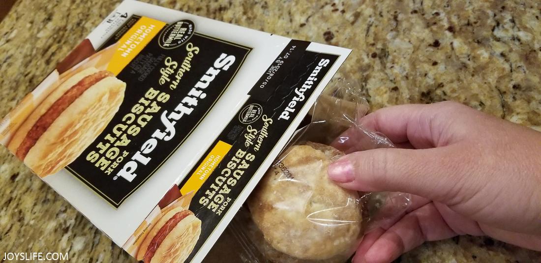 Smithfield Sausage Biscuit