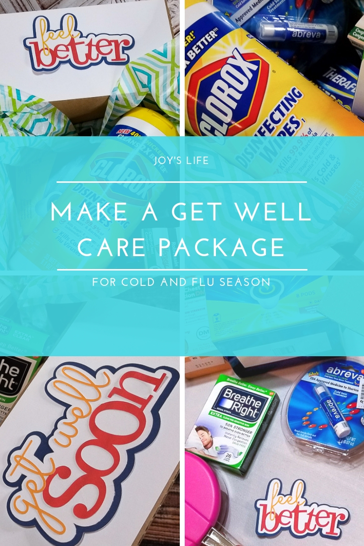 Get Well Package Collage
