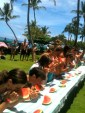 Marriott: Watermelong contest on Fourth of July