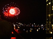 More fireworks than lahaina on fourth and every saturday night
