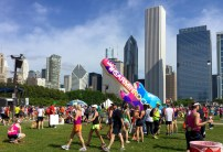 Post mini marathon Chicago