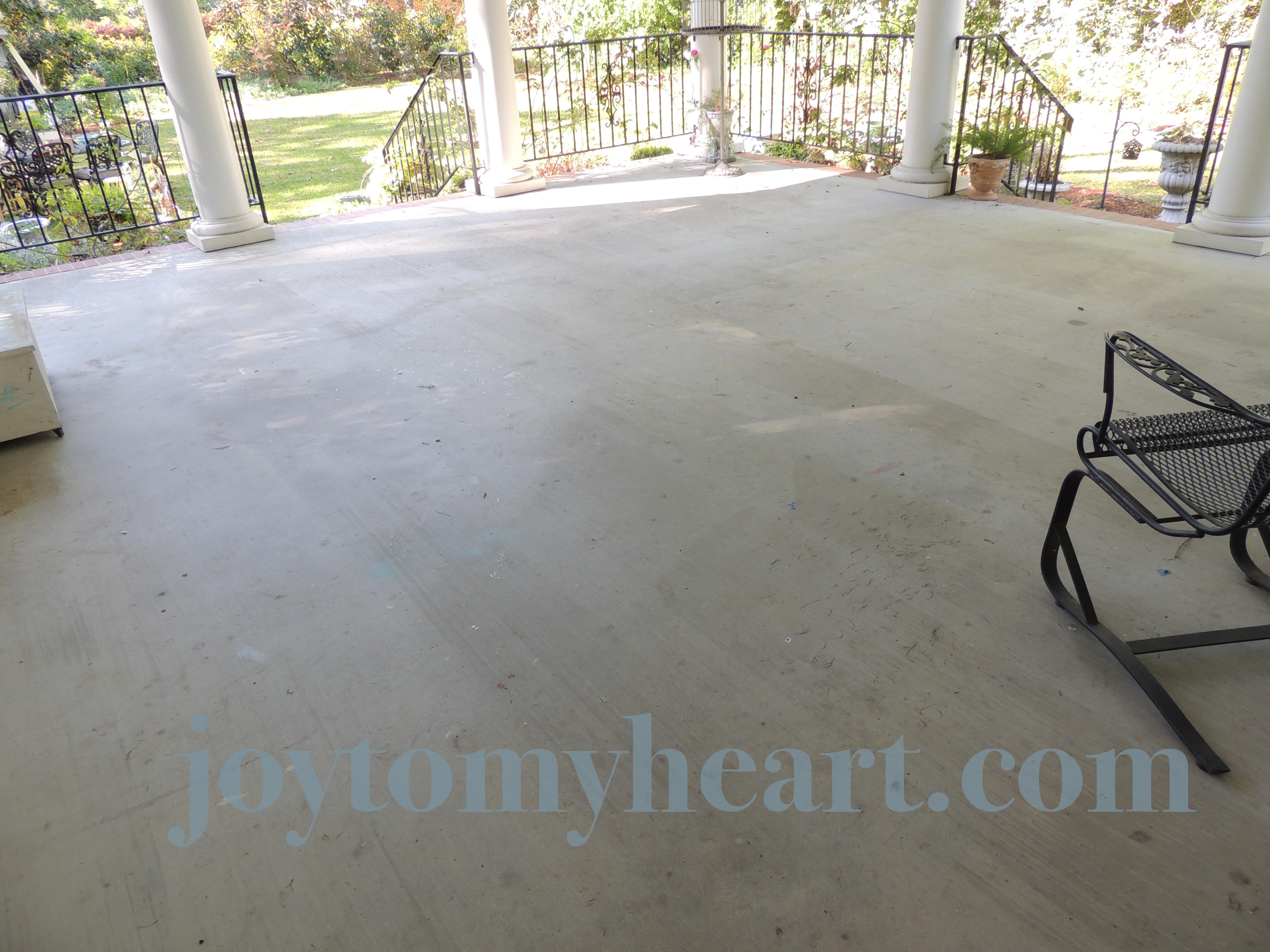 https joytomyheart com diy paint a porch faux slate with stencil tiles