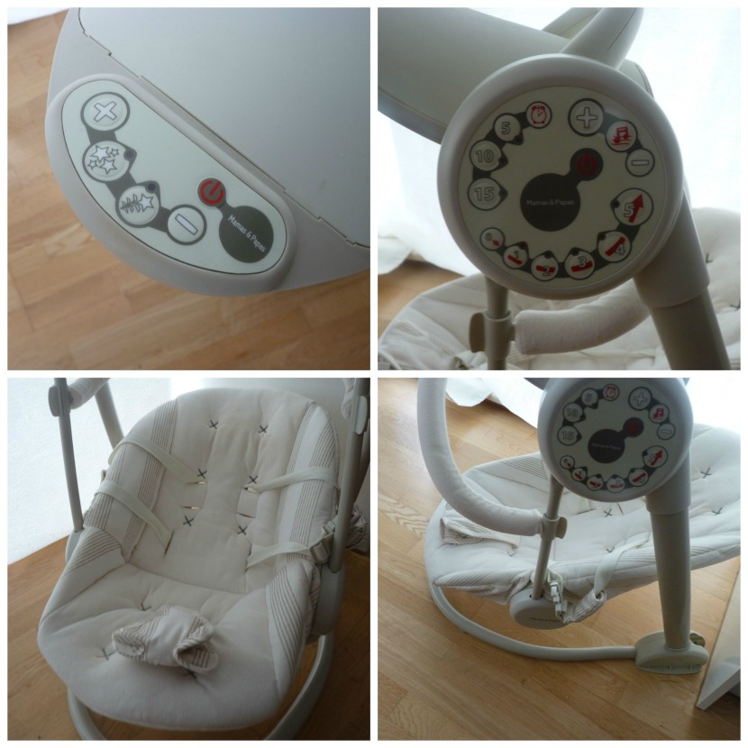 swing chair mamas and papas teak folding cushions review starlite joy to the world