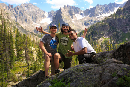 Trio Indian Peaks
