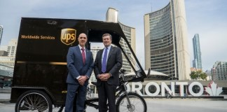 UPS Canada Cago Bike