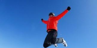 겨울 점프
