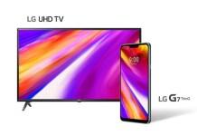 LG전화와 TV