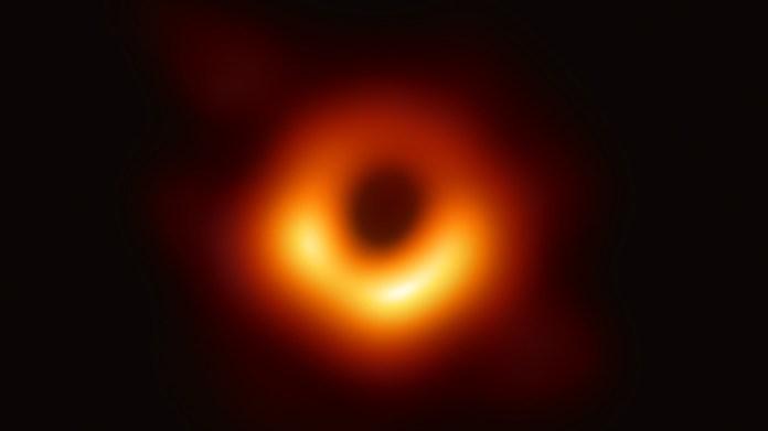 블랙홀 실제 사진