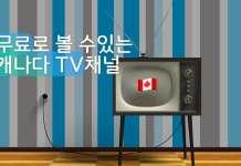 온라인으로 볼 수 있는 캐나다 무료 TV채널 소개.