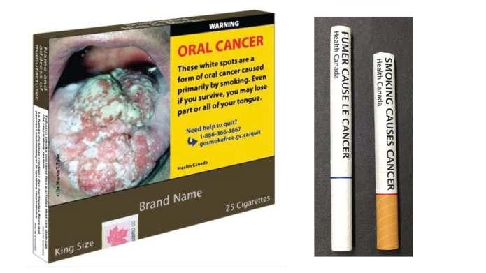 캐나다 정부, 11월부터 담배 포장과 일부 상표명 강제 교체