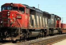 CN레일 기관차
