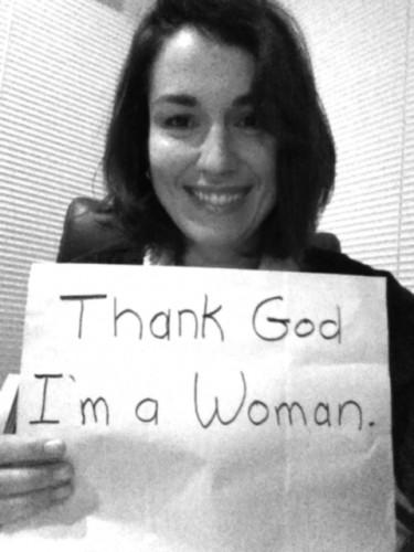thank God I'm a woman