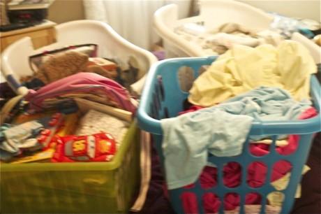 baskets of stuff