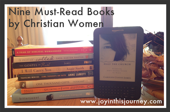 nine must reads by Christian women