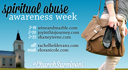 Spiritual Abuse Awareness Week
