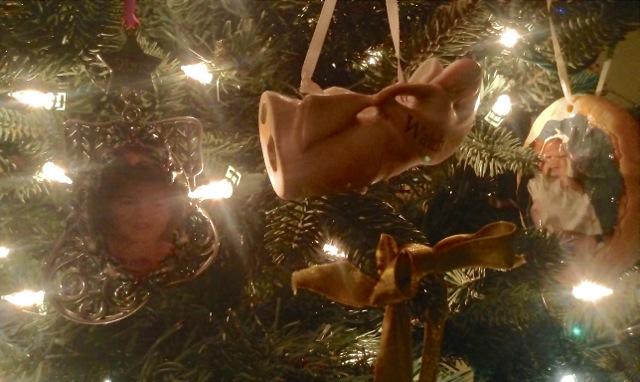 Christmas ornaments of Elli