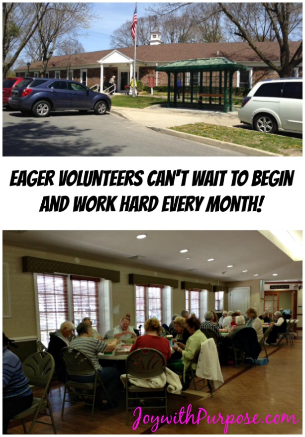 Involve Others in your projects senior centers are eager to help