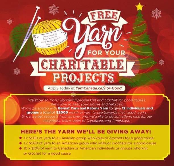 Enter to win Free Yarn