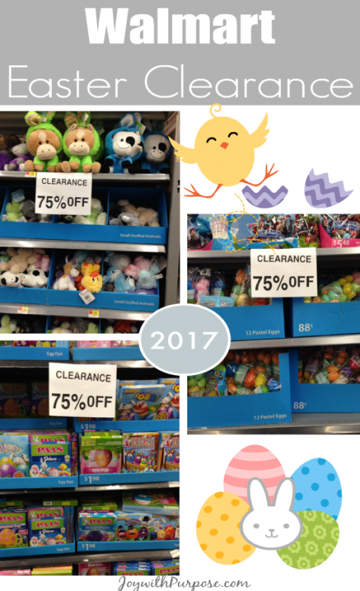 Why YOU Should Check out Walmart Easter Clearance