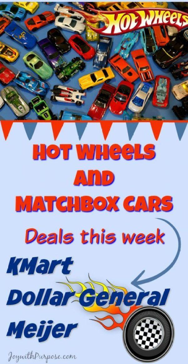 Hot Wheels and Matchbox cars deals