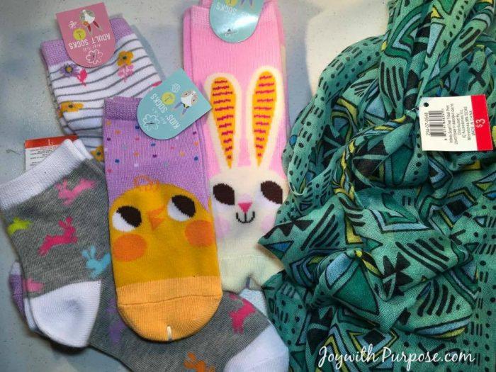 Target Easter Clearance socks