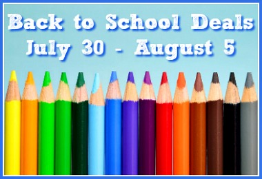 Best Back to School Deals for July 30 - August 5, 2017