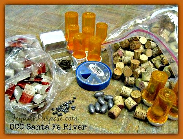 Items to include in homemade fishing kits