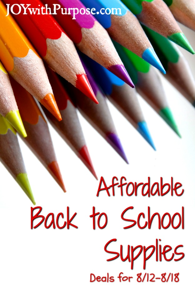 Affordable Back To School Items This Week Joy With Purpose