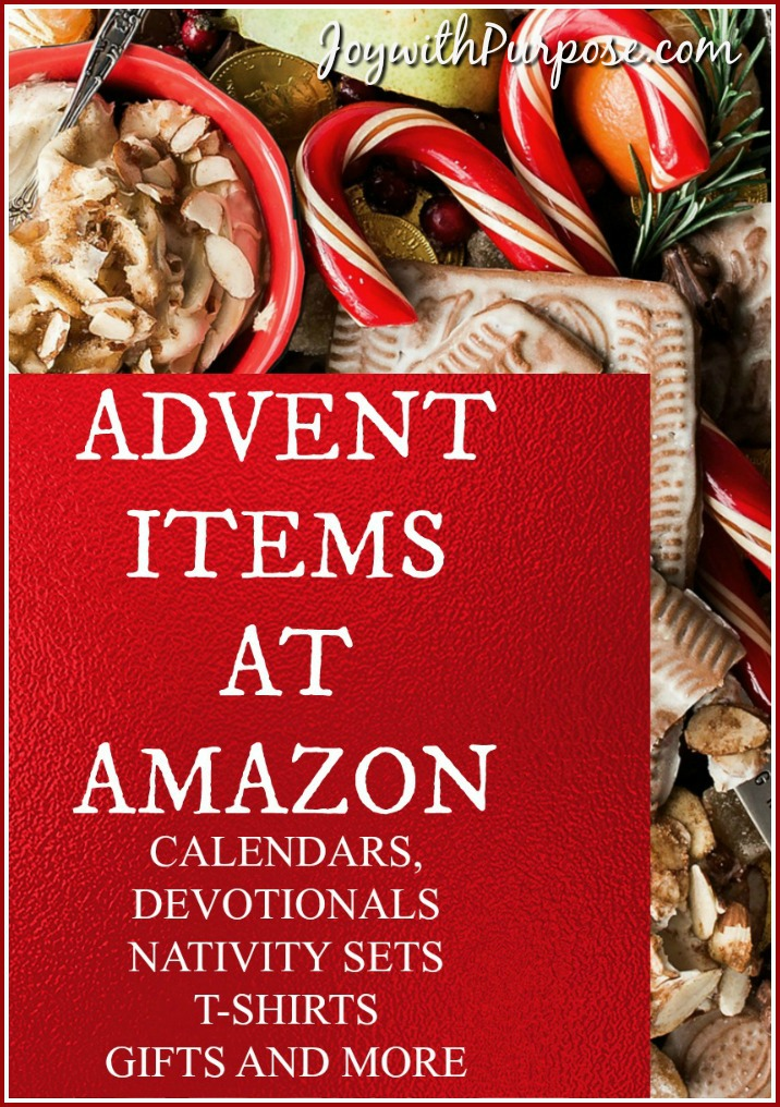 let's celebrate advent with these items from Amazon