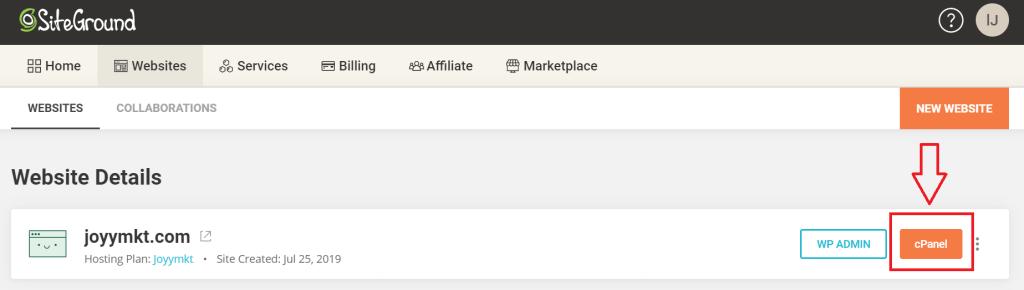 如何安裝第二個網站在SiteGround裡_01