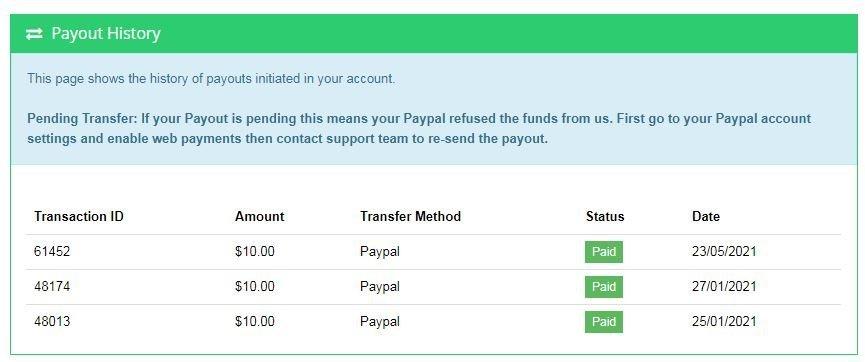 Star Click Payout 0523
