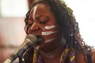 Oya of Vodun performing at Camden Rocks 2015. Photo by Rupert Hitchcox