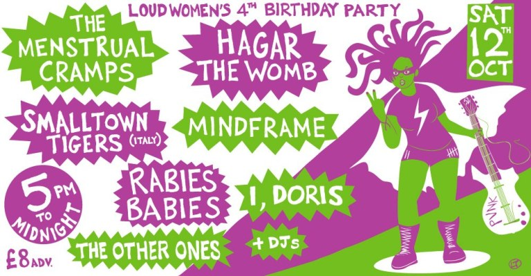loud women 4th birthday