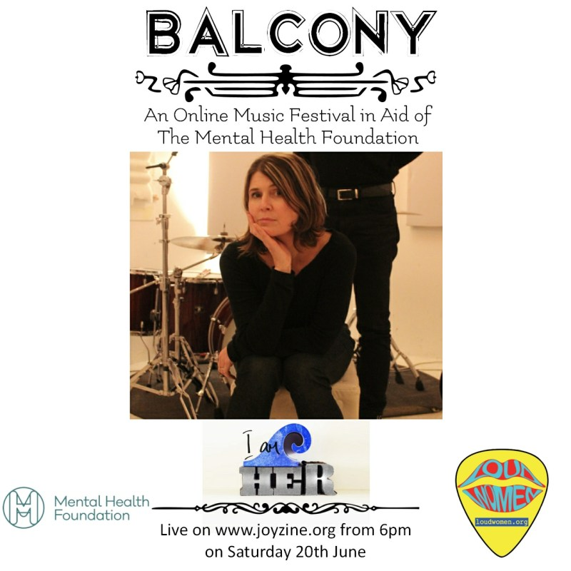 i am her balcony festival for mental health foundation