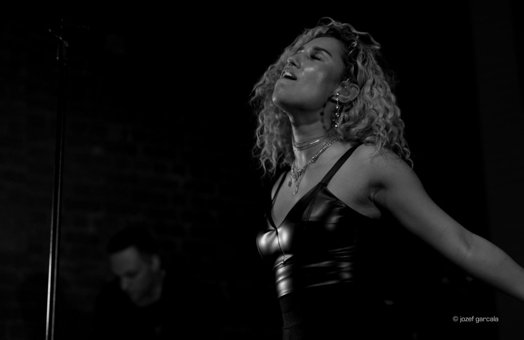 South London's Raye performing live show at Village Underground