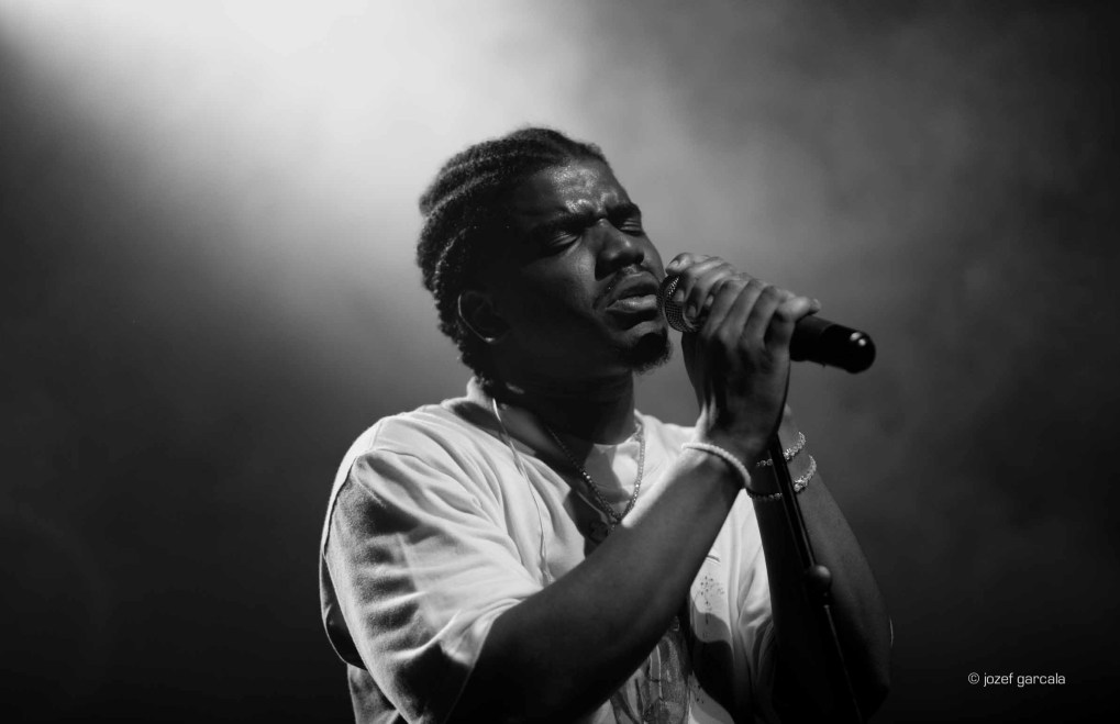 American rapper Smino onstage at Village Underground, London, UK